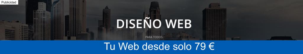 Diseño Web desde 79€